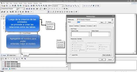 herramienta case herramienta case erwin data modeler youtube
