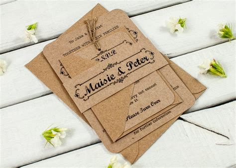 how to find the right wedding invitations for you etsy