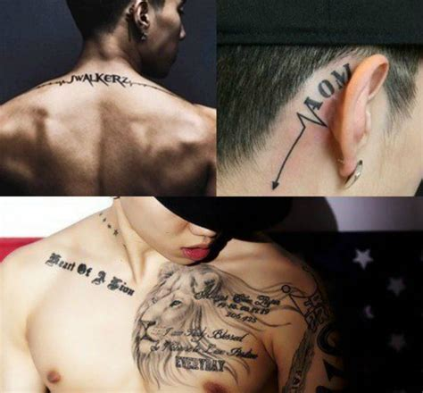 the deeper meaning behind these 7 celebrity tattoos koreaboo