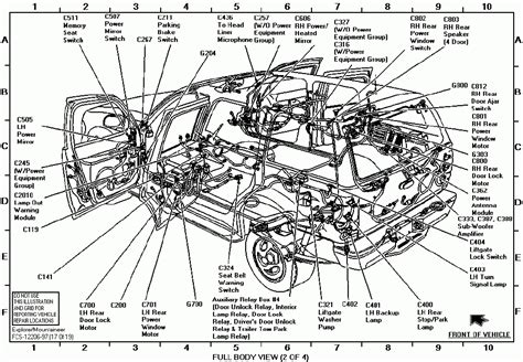 Ford Ranger Parts Catalog by 1998 Ford Explorer Interior Parts Diagram Ford Auto