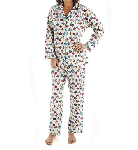 bed head pajamas bedhead pajamas christmas ornaments long sleeve flannel