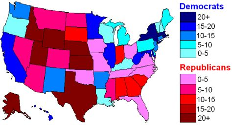 us map democratic states where s more liberal the west coast or the northeast