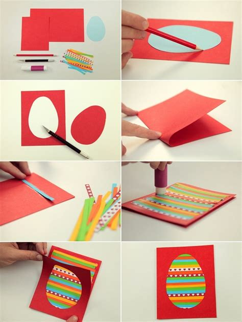 Easy Paper Crafts For Adults - easter craft ideas for to make 4 easy diy easter cards