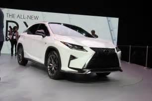 2016 lexus rx at new york international auto show 15