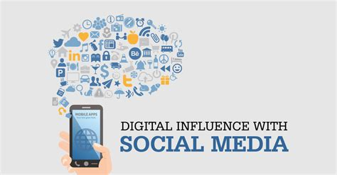 on media digital influence with social media ground report