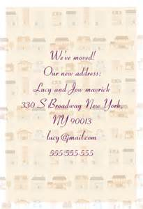 We Ve Moved Template by We Ve Moved Free Printable Housewarming Invitation
