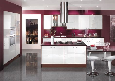 purple kitchen design interior design idea for kitchen for small space