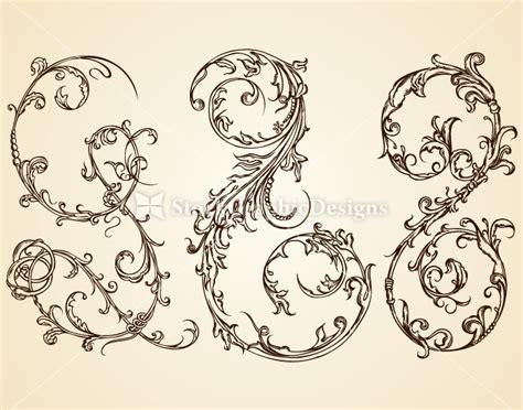design elements for photoshop vintage calligraphic design elements vector vector