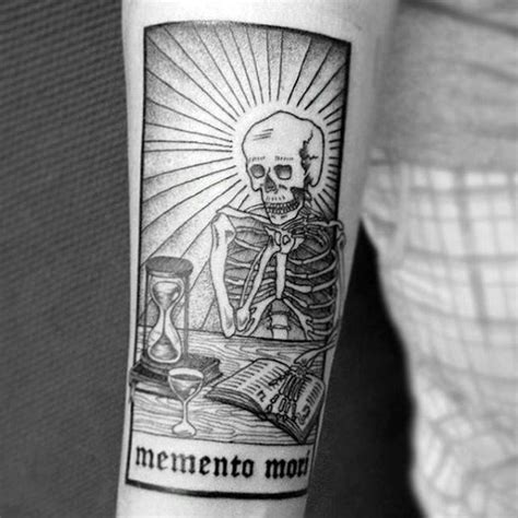 60 memento mori tattoo designs for men manly ink ideas