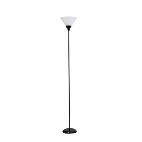 floor l white shade modern torch floor l white shade black base buy floor