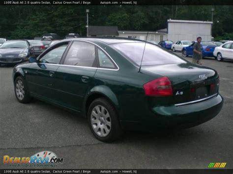 Audi A6 2 8 Quattro by 1998 Audi A6 2 8 Quattro Sedan Cactus Green Pearl Beige