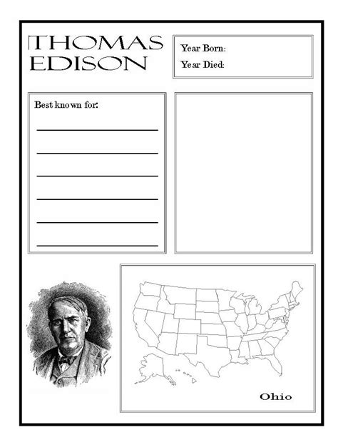 thomas edison biography for middle school 9 best industrial revolution images on pinterest word