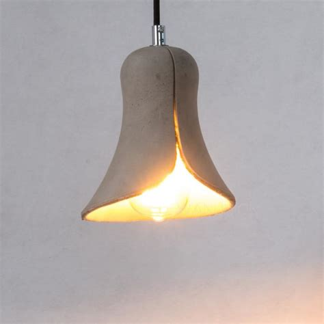 concrete ceiling lighting concrete pendant l modern cement ceiling lighting