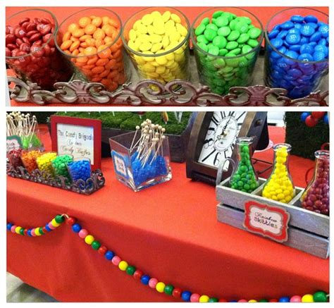 Colour Themes Lollipop | cute colorful candy buffet