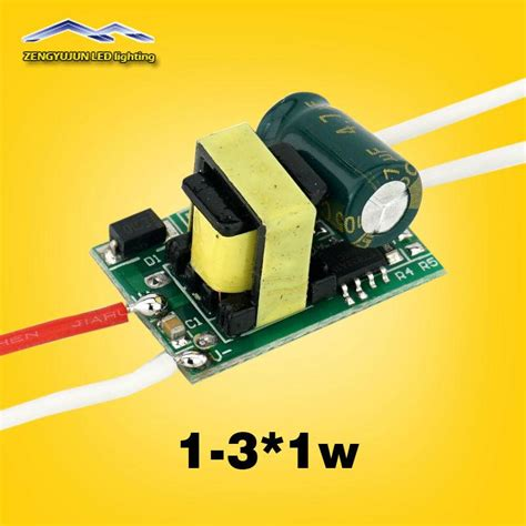 Promo Led Driver 2 3 2 3 W 300 Ma Casing Plastik For Panel Led 2 Warn output 280 300ma dc3 12v 1 3 1w led driver input voltage ac85 265v 1w 2w 3w led l driver