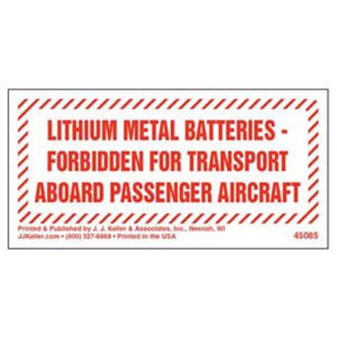 Lithium Ion Battery Label Lithium Ion Battery Label Template