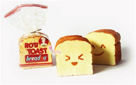 Squishy Roti Croissant Mainan Squishy Roti breadou roti toast squishy holder original 183 uber tiny 183 store powered by storenvy