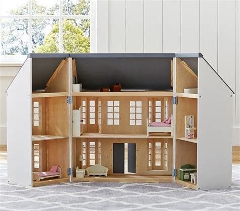 pottery barn kids doll house greenwich dollhouse pottery barn kids ag mini dolls