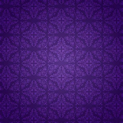 purple pattern background vector decorative background with a purple damask pattern vector