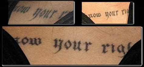 angelina jolie tattoo know your rights font angie s rainbow tattoos of angelina jolie