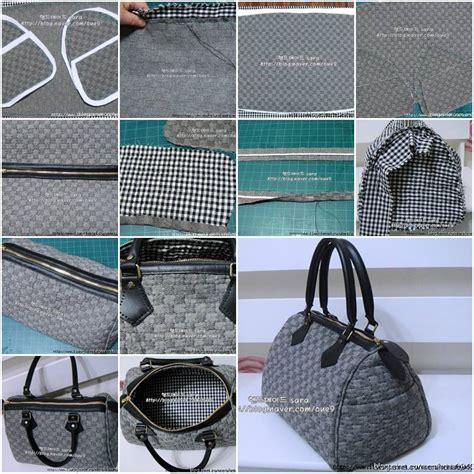 Handmade Clutch Bags Tutorial - how to make fashionable designer handbags step by