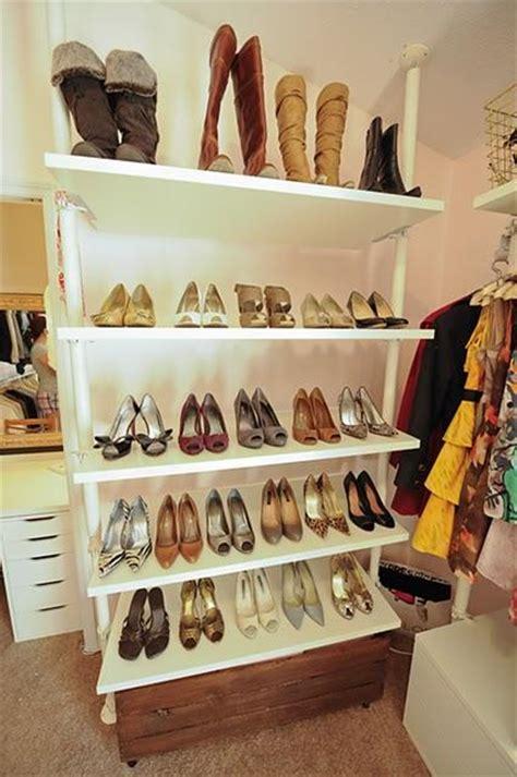 ikea shoe shelves transitional closet behr frolic