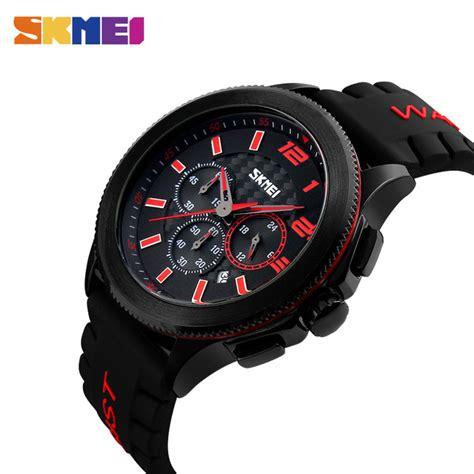 11 Jam Tangan Hmes Segi Analog Unisex 4 Col Diskon skmei jam tangan analog pria 9136 jakartanotebook