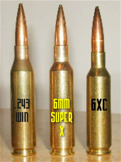 50 Bmg Load Data by Rod Versions Of The 243 Winchester Br K And X