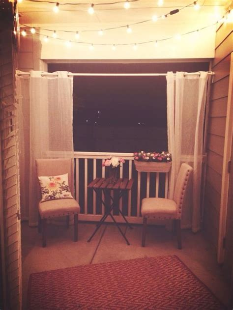 apartment balcony curtains best 25 apartment patio decorating ideas on pinterest