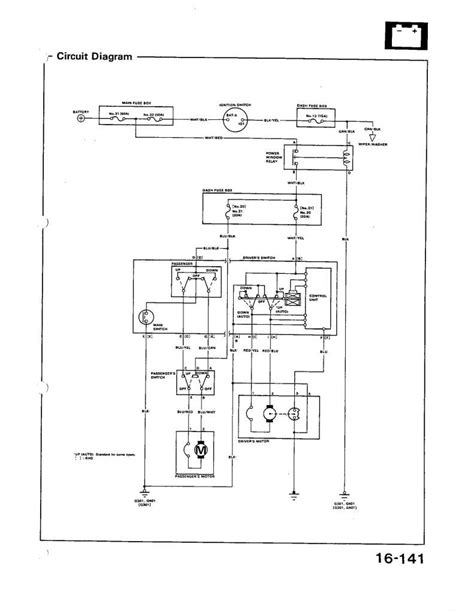 95 civic power window wiring diagram 95 electrical diagram pictures