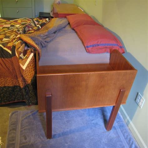 custom cherry sidecar sleeping baby bed attachment
