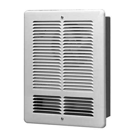 king 1500 watt 240 volt wall electric heater in white