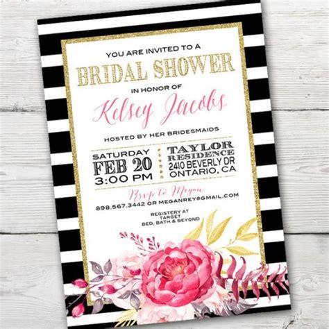 Kate Spade Inspired Bridal Shower Invitation Printable Kate Spade Bridal Shower Kate Spade Kate Spade Invitation Template