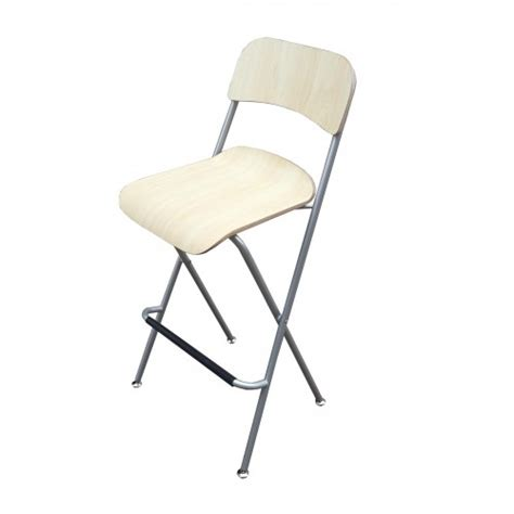 Folding Bar Chairs by Chair Folding Bistro Bar Stool Wood Metal Two Pack 11036