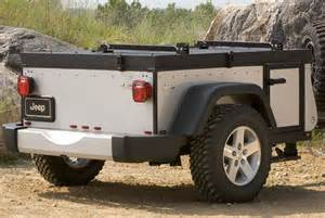 Jeep Road Cer Trailer Road Trailer On Rubicon Trail With Jeep Jk 2012