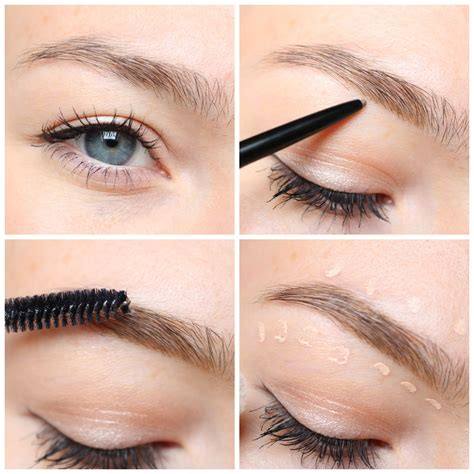 Nyx Micro Brow Pencil jodie how i fill in my brows nyx cosmetics