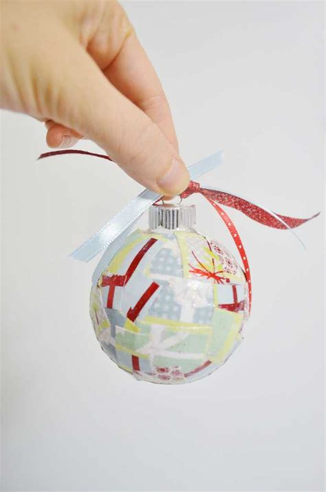 Simple Decoupage - simple decoupage ornaments a tutorial
