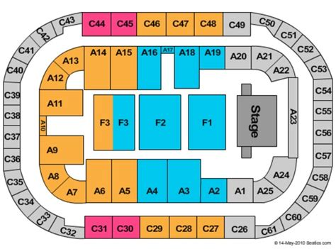 ford center seating chart carrie underwood arena at ford idaho center tickets in na idaho seating