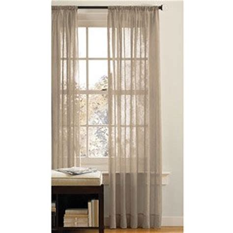 canopy sheer curtains com canopy crushed voile sheer drapery curtain