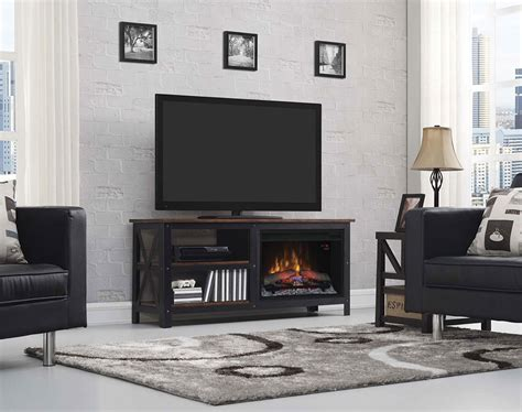 Tv Entertainment Centers With Fireplace by Grainger Electric Fireplace Entertainment Center In