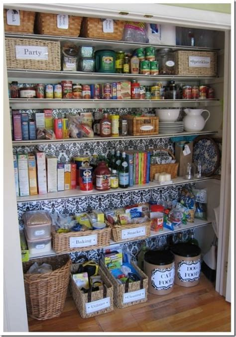 Food Closet Organizer 10 Closet Spaces And How To Organize Them Organize