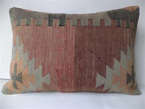 24 inch pillows sofa lumbar kilim pillow 24 quot x16 quot inch pastel kilim pillow cover