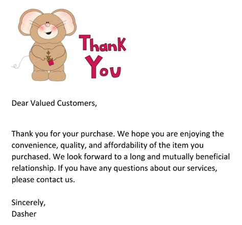 thank you letter to client for a gift 4 real tips for sellers to improve customer