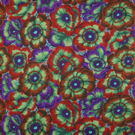 Kaffe Fassett Upholstery Fabric by Kaffe Fassett Collective Waltzing Matilda Moss Fabric