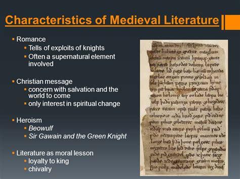 literature characteristics the period ppt