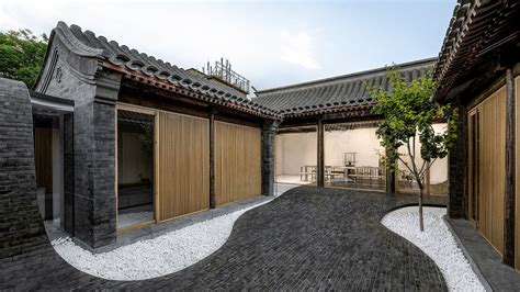 arch studio arch studio s twisting courtyard in beijing ignant