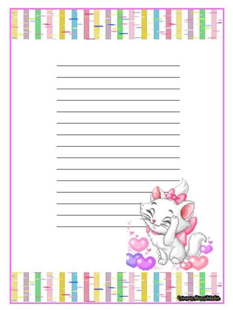 hojas para escribir cartas hojas decoradas para cartas de amor imagui azucaradas