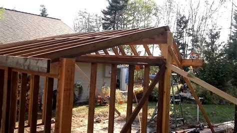 build  awesome wood shed  scratch youtube