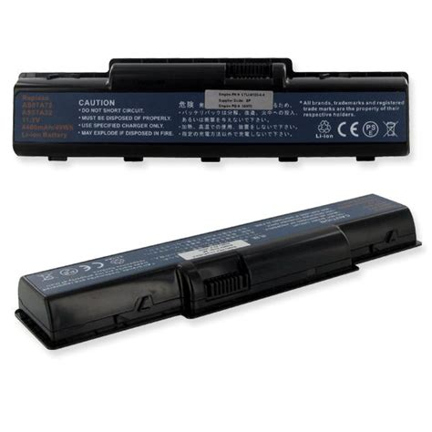 Acer As07a72 Li Ion Battery Replacement 4400mah 4720z acer as07a31 laptop battery acer 11 1v 4400mah li ion