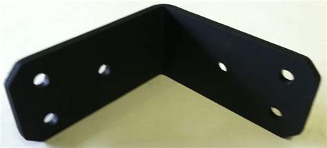 Corner T Brace Siku Pojok T Large Black angle iron and decorative quot l quot angle brackets